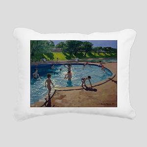 il on canvasA - Rectangular Canvas Pillow