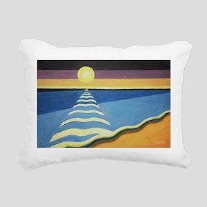 3 @oil on canvasA - Rectangular Canvas Pillow