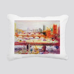 c on paperA - Rectangular Canvas Pillow