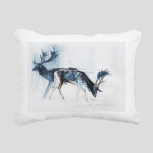 , 2006 @charcoal - Rectangular Canvas Pillow