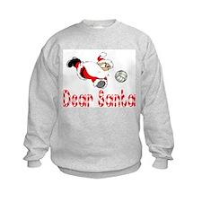 VolleyChick Dear Santa TWO side Kids Sweatshirt