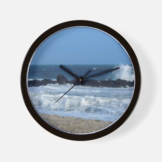 Ocean Beach Rocks Cape May Shower Curtain Wall Clo