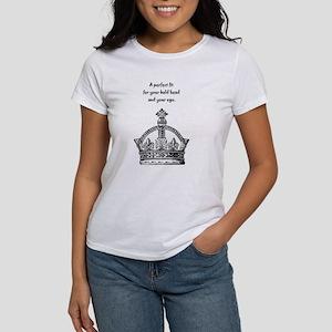 Ego Crown Keep Calm Women's T-Shirt