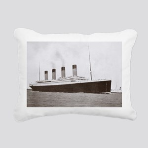 te Star Line - Rectangular Canvas Pillow