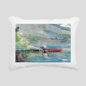 /c on paperA - Rectangular Canvas Pillow