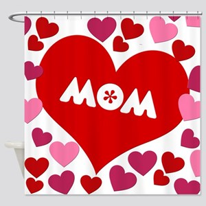 Love Mom Shower Curtain