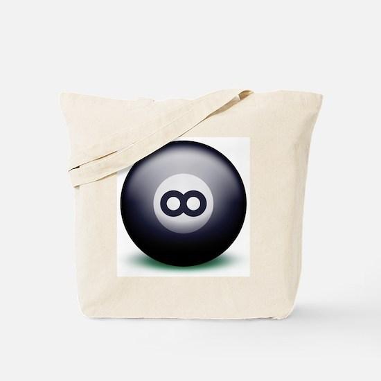 Infinity Eight Ball Tote Bag