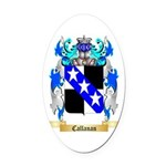 Callanan Oval Car Magnet