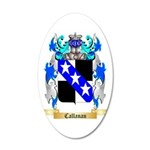 Callanan 35x21 Oval Wall Decal