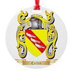 Callan Round Ornament