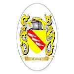 Callan Sticker (Oval 50 pk)