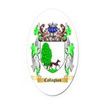 Callaghan Oval Car Magnet