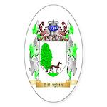 Callaghan Sticker (Oval)