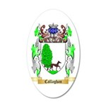 Callaghan 35x21 Oval Wall Decal