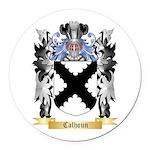 Calhoun Round Car Magnet