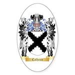 Calhoun Sticker (Oval 50 pk)