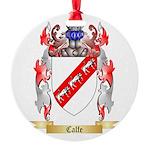 Calfe Round Ornament
