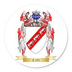 Calfe Round Car Magnet