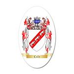 Calfe 20x12 Oval Wall Decal