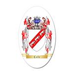 Calfe 35x21 Oval Wall Decal