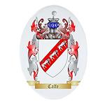 Calfe Ornament (Oval)