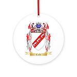 Calfe Ornament (Round)