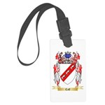 Calf Large Luggage Tag