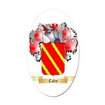 Caley Oval Car Magnet