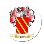 Caley Round Car Magnet