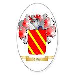 Caley Sticker (Oval 50 pk)