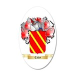 Caley 20x12 Oval Wall Decal