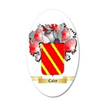Caley 35x21 Oval Wall Decal