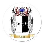 Calero Round Car Magnet