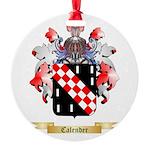 Calender Round Ornament