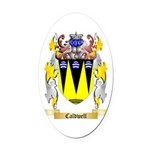 Caldwell Oval Car Magnet