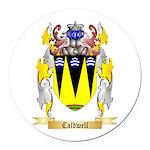 Caldwell Round Car Magnet