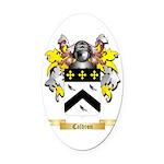 Caldron Oval Car Magnet
