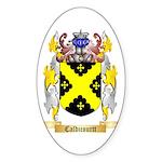 Caldicourtt Sticker (Oval 50 pk)