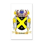 Caldicot Rectangle Car Magnet