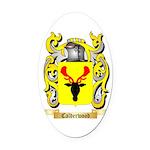 Calderwood Oval Car Magnet
