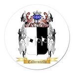 Calderonello Round Car Magnet