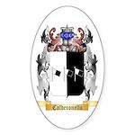 Calderonello Sticker (Oval)