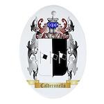 Calderonello Ornament (Oval)