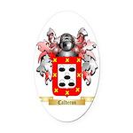 Calderon Oval Car Magnet
