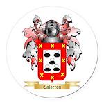 Calderon Round Car Magnet