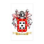 Calderon Sticker (Rectangle 50 pk)