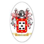 Calderon Sticker (Oval 50 pk)