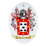 Calderon Ornament (Oval)