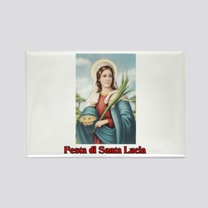 Festa di Santa Lucia Rectangle Magnet