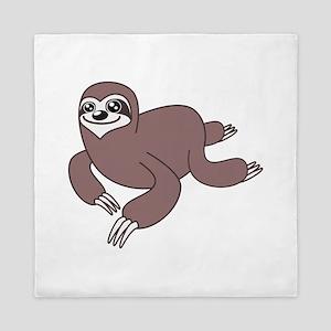 Sloth Crawl Queen Duvet